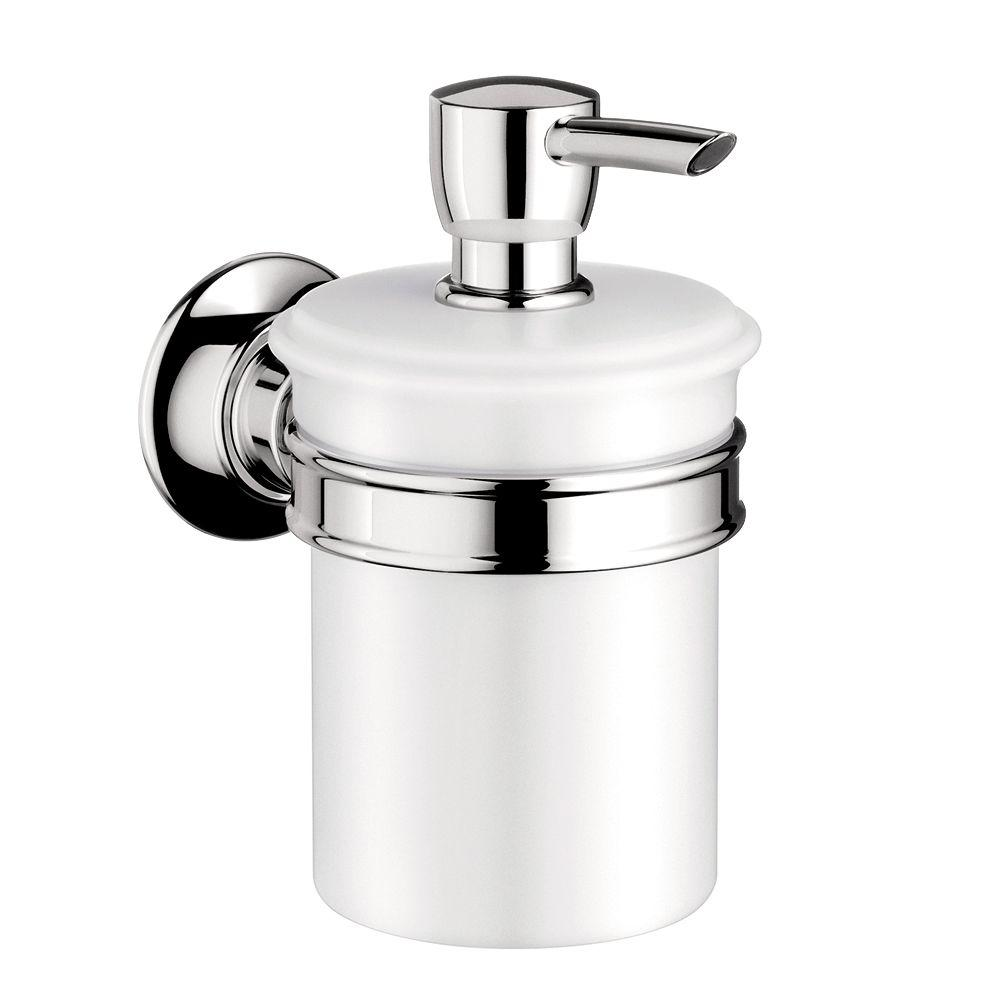 Hansgrohe Axor Montreux Wall-Mounted Soap Dispenser in Chrome