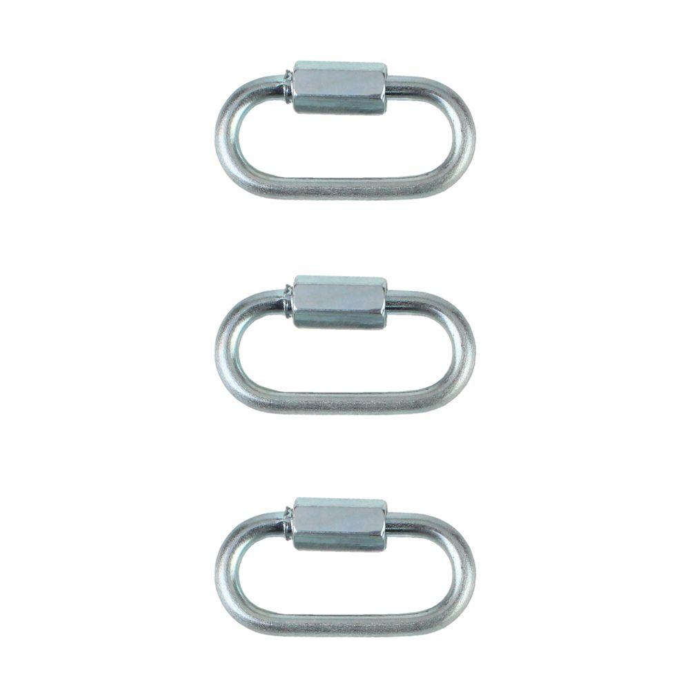 1/8 in. Zinc-Plated Quick Link (3-Pack)