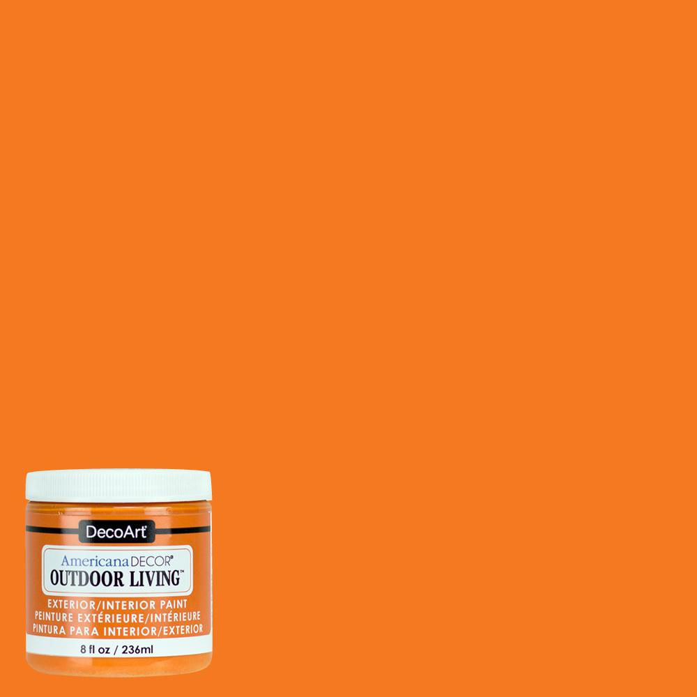 Outdoor Living 8 oz. Sunset Acrylic Paint