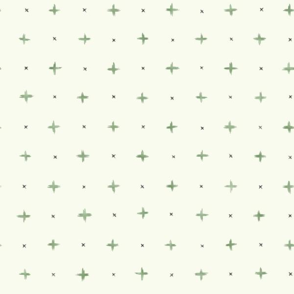 Cross Stitch Green Paper Peelable Roll (Covers 34 sq. ft.)