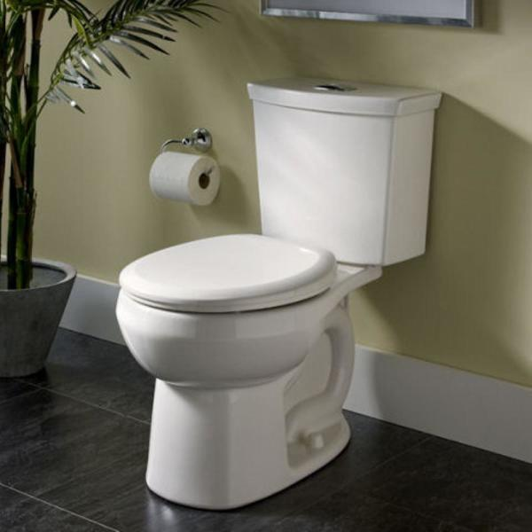 American Standard H2option 2 Piece Siphonic 1 6 1 0 Gpf Dual Flush Round Front Toilet In Bone 2889 216 021 The Home Depot