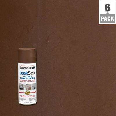 12 oz. LeakSeal Brown Spray (6-Pack)