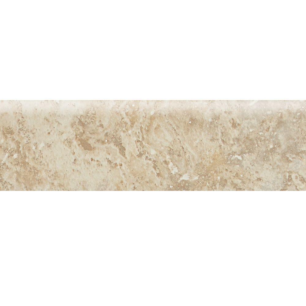 Heathland Raffia 3 in. x 12 in. Glazed Ceramic Bullnose Floor