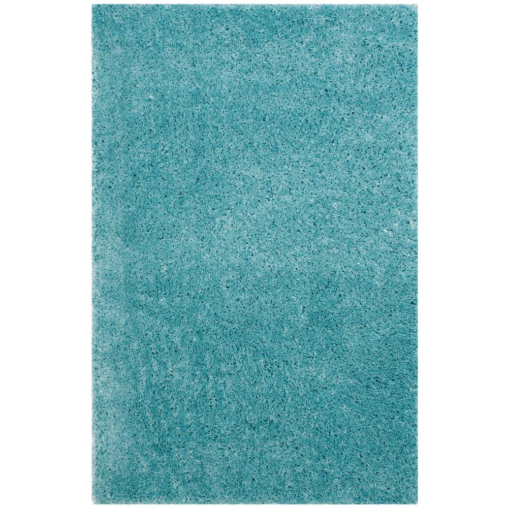 Safavieh Indie Shag Turquoise 4 Ft. X 6 Ft. Area Rug