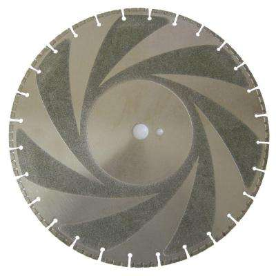 16 in. Ductile Iron Diamond Blade for Metal Cutting