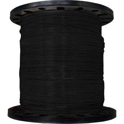 2500 ft. 12/19 Black Stranded THHN Wire