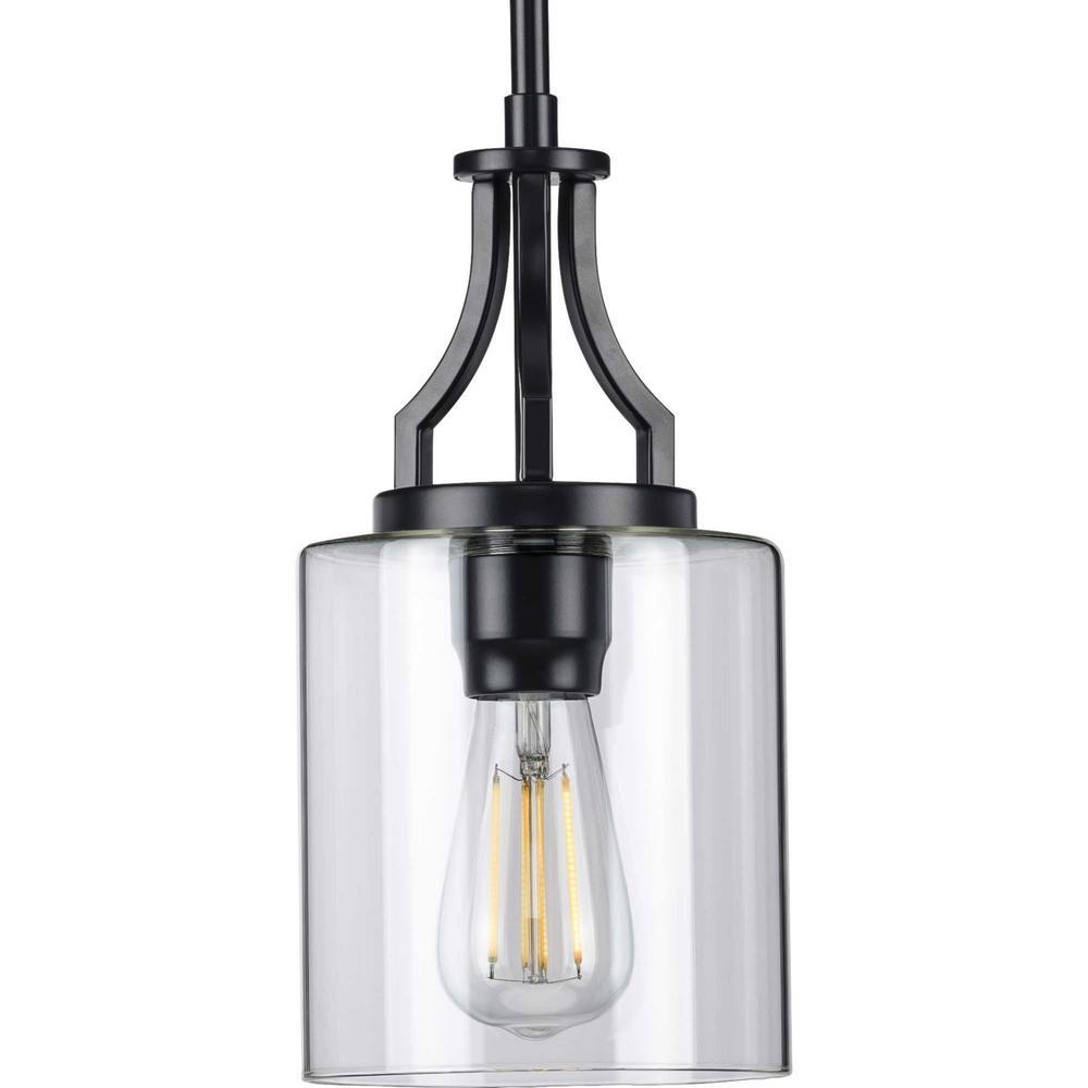 Lassiter 1-Light Black Mini-Pendant