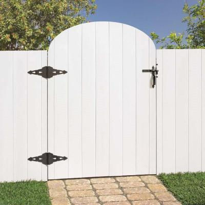 Black Post Latch Gate Set