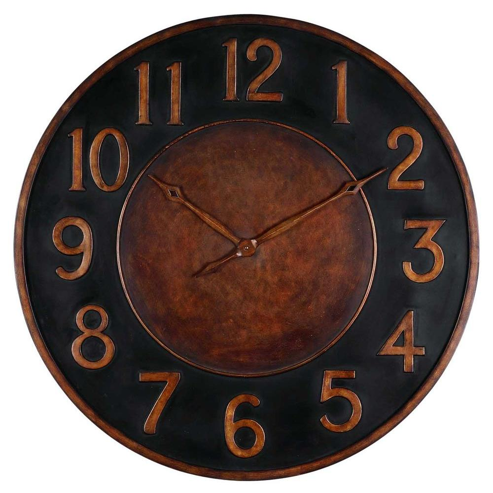 Global Direct 35-3/4 in. Round Wall Clock-DISCONTINUED