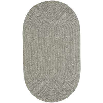 Candor Green 1 ft. 8 in. x 2 ft. 6 in. Oval Area Rug