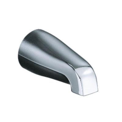 Coralais Non-Diverter Bath Spout in Vibrant Brushed Nickel