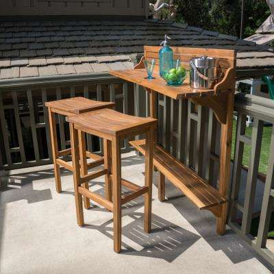 No Additional Features Bar Height Patio Bar Sets Outdoor Bar