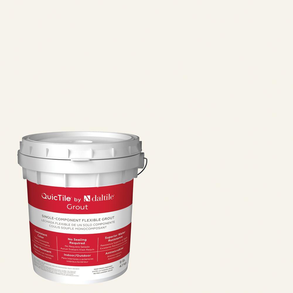 Daltile QuicTile D152 Frost 9 lb. Pre-Mixed Urethane Grout