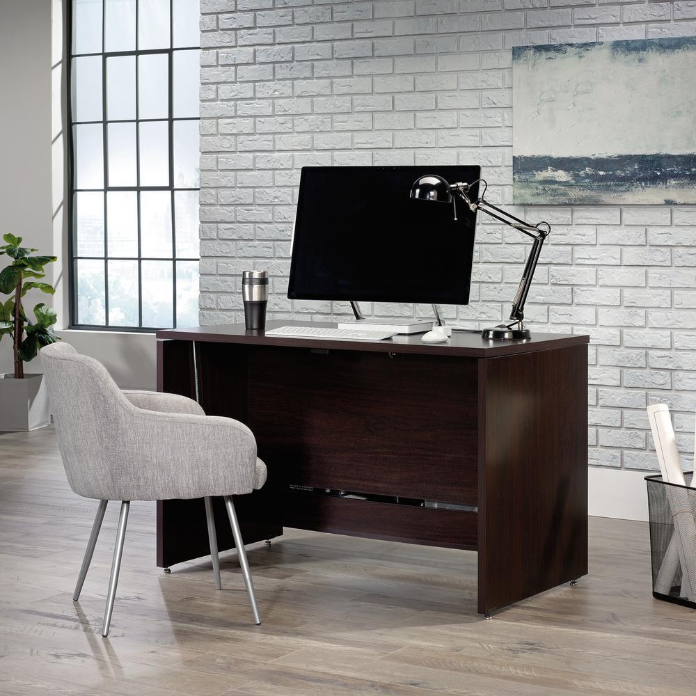 47 in. Rectangular Jamocha Standing Desk with Adjustable Height Feature