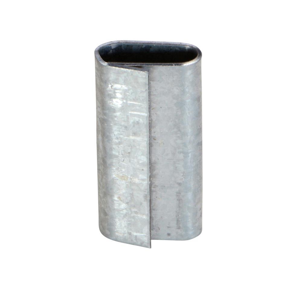 Vestil 1/2 in. Heavy-Duty Poly Strapping Seal
