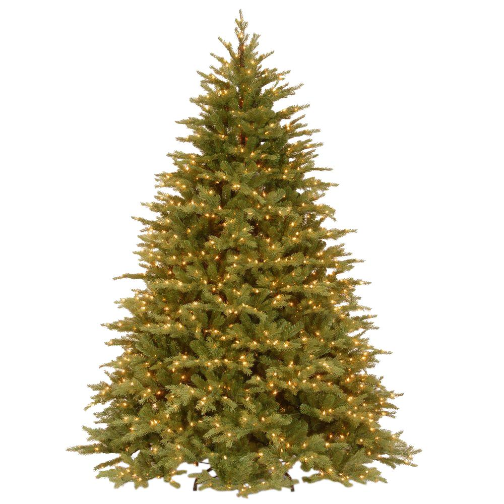 National Tree Company 7-1/2 ft. Feel Real Nordic Spruce Hinged ...