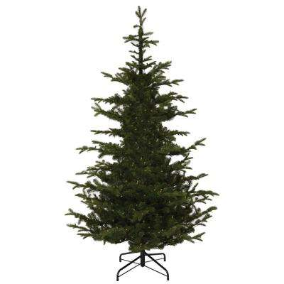 7.5 ft. Indoor Norwegian Spruce Hinged Artificial Christmas Tree