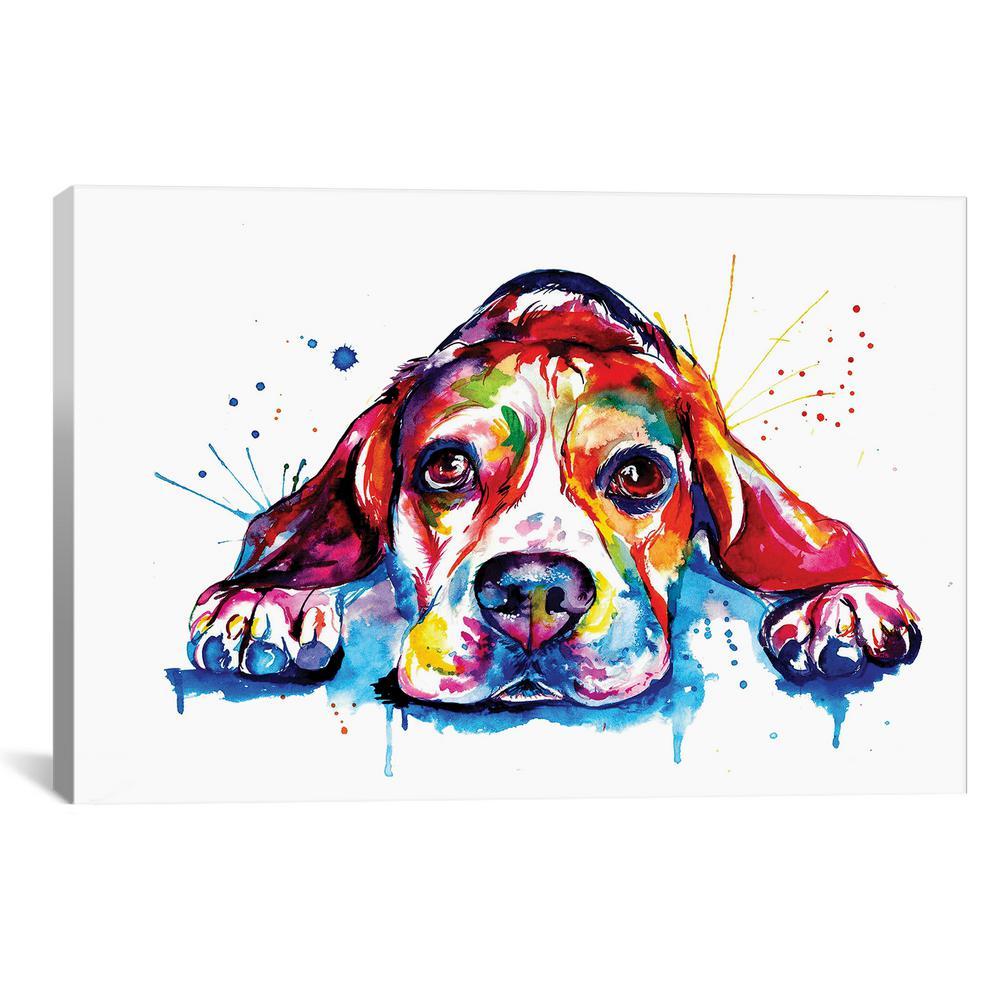 Beagle by Weekday Best Wall Art