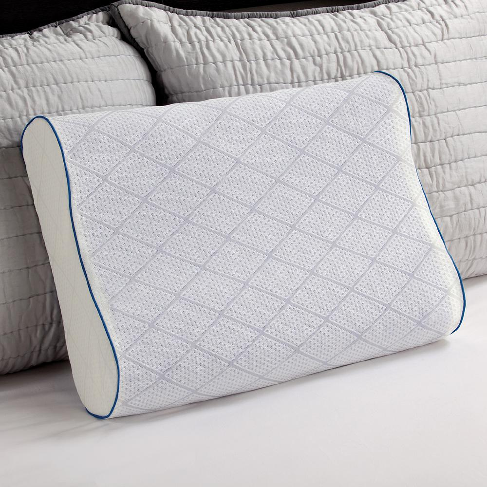 Sealy Cooling Gel and Memory Foam Standard-Size Contour P...