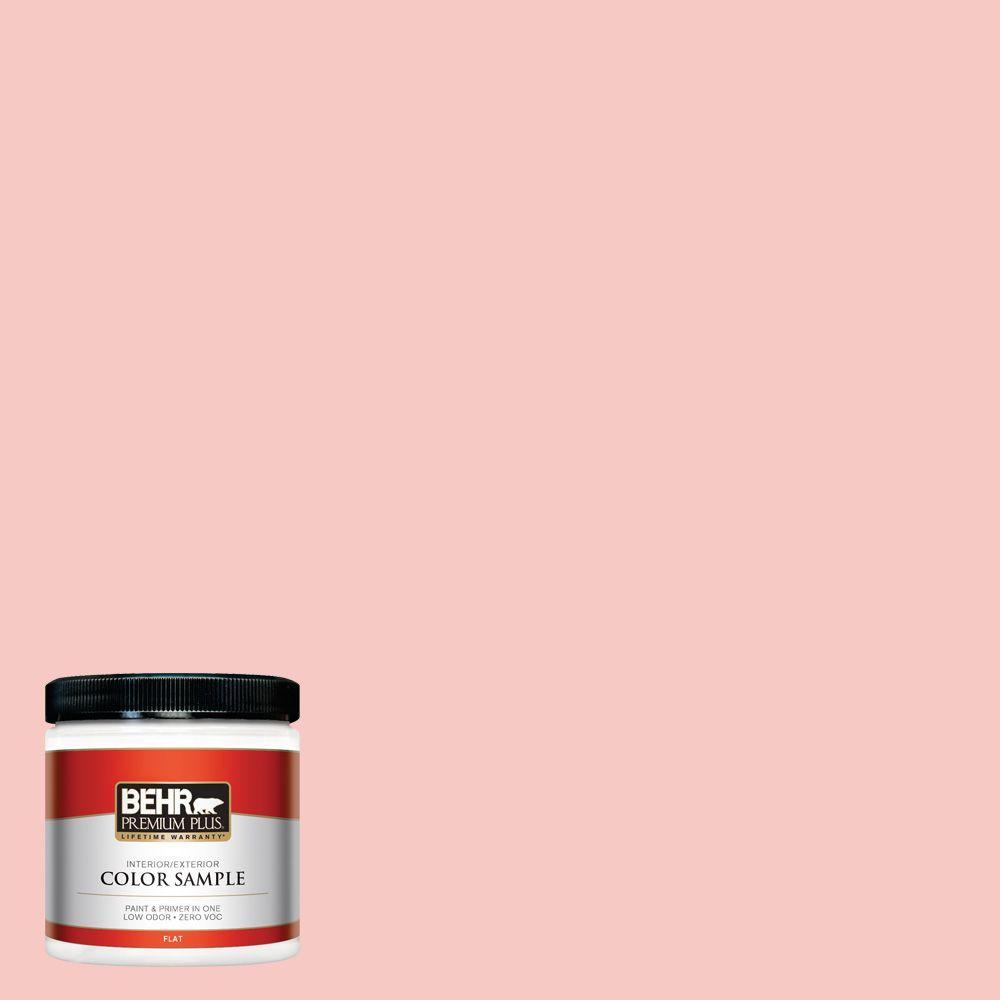 8 oz. #160C-2 Flush Pink Interior/Exterior Paint Sample