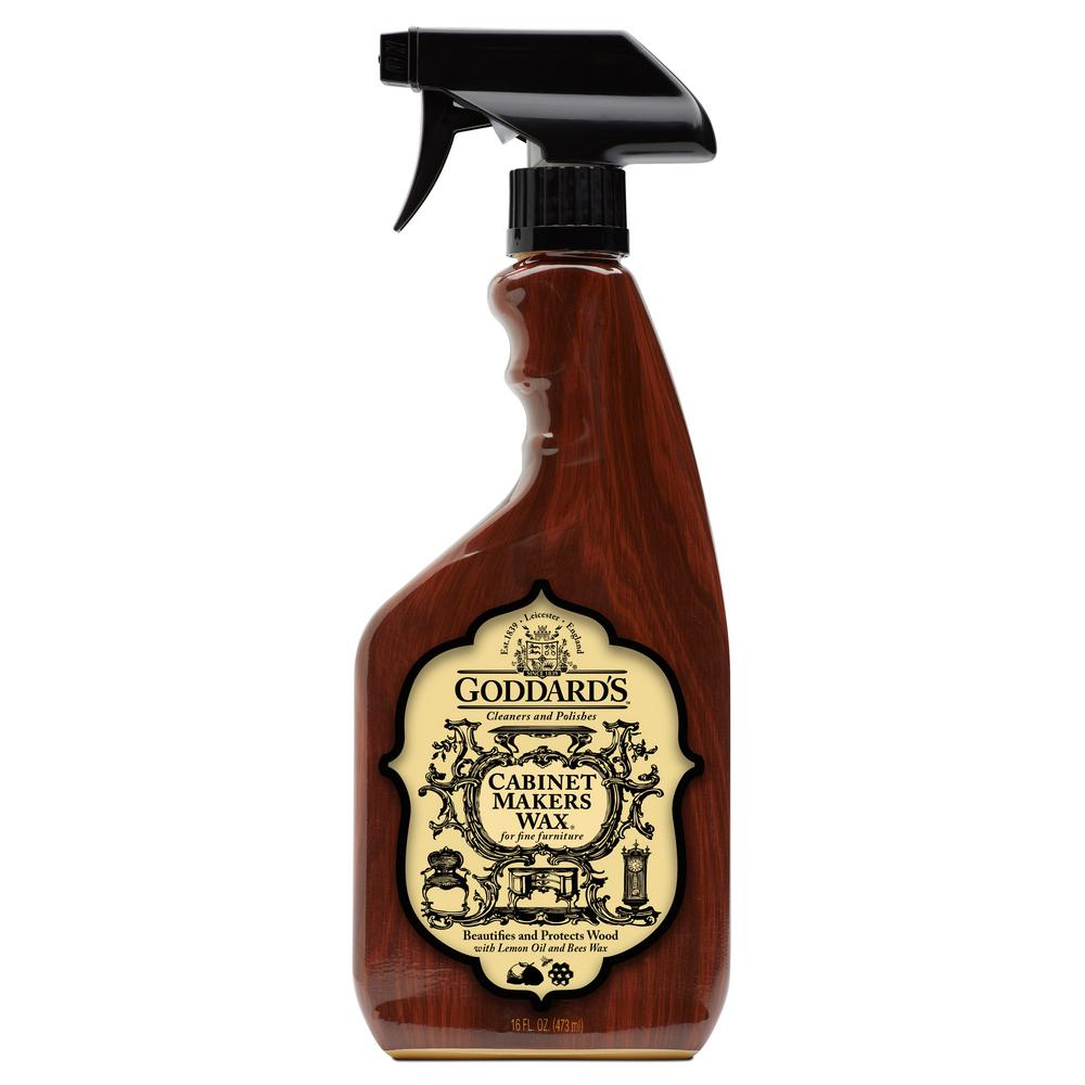 Goddard's Wood Cabinet Makers Spray Wax-704388 - The Home ...