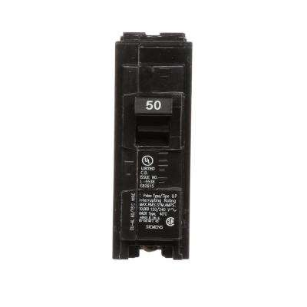 50 Amp Single-Pole Type QP Circuit Breaker