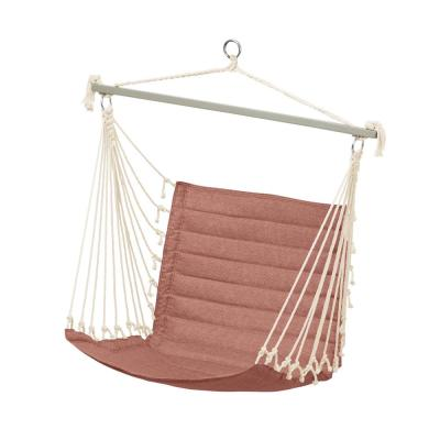 Weekend 27 in. Quilted Hammock Chair in Cedarwood