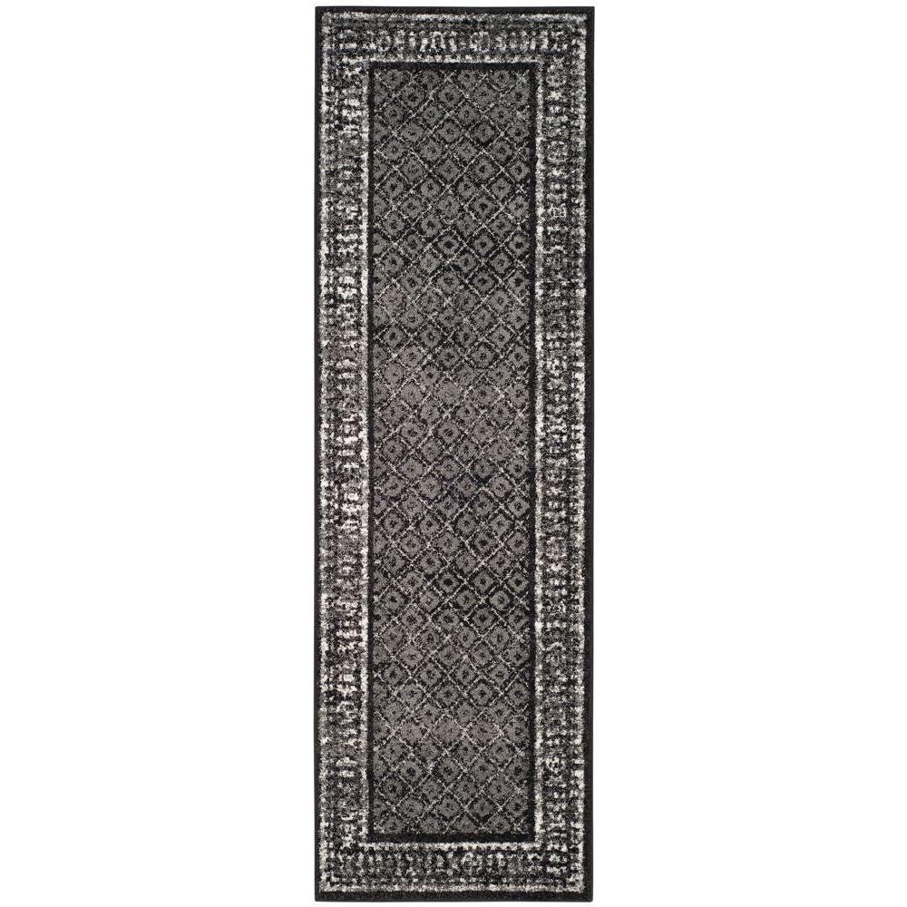 Safavieh Adirondack BlackSilver 2 ft 6 in x 8 ft  : black silver safavieh area rugs adr110a 28 641000 from www.homedepot.com size 1000 x 1000 jpeg 128kB