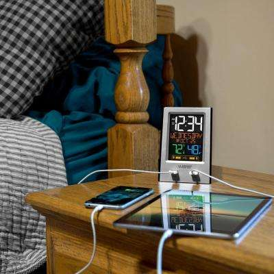 Desktop Dual USB Charging Station with Alarm & nap timer