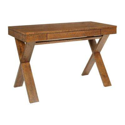 Lane Distressed Wood Desk