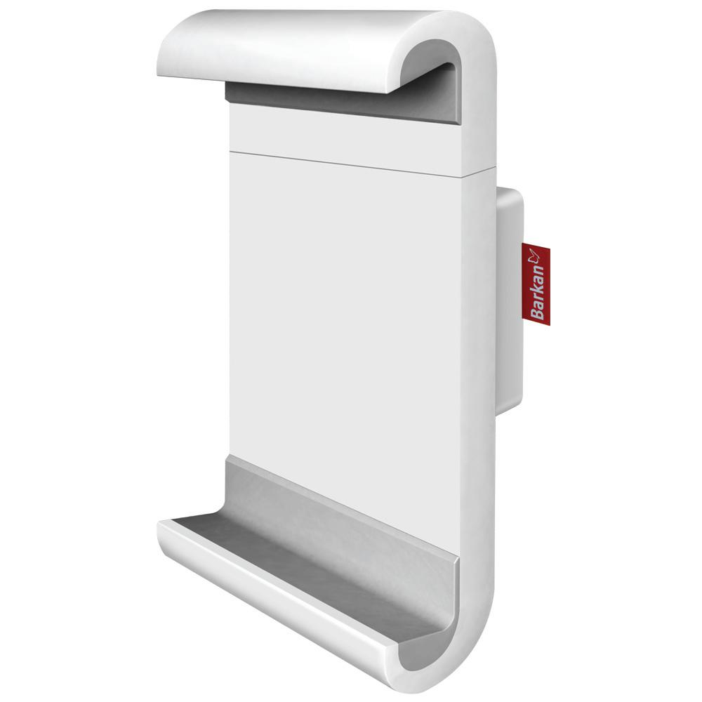 Fixed Wall Mount for 7 in. to 12 in. Tablets, White