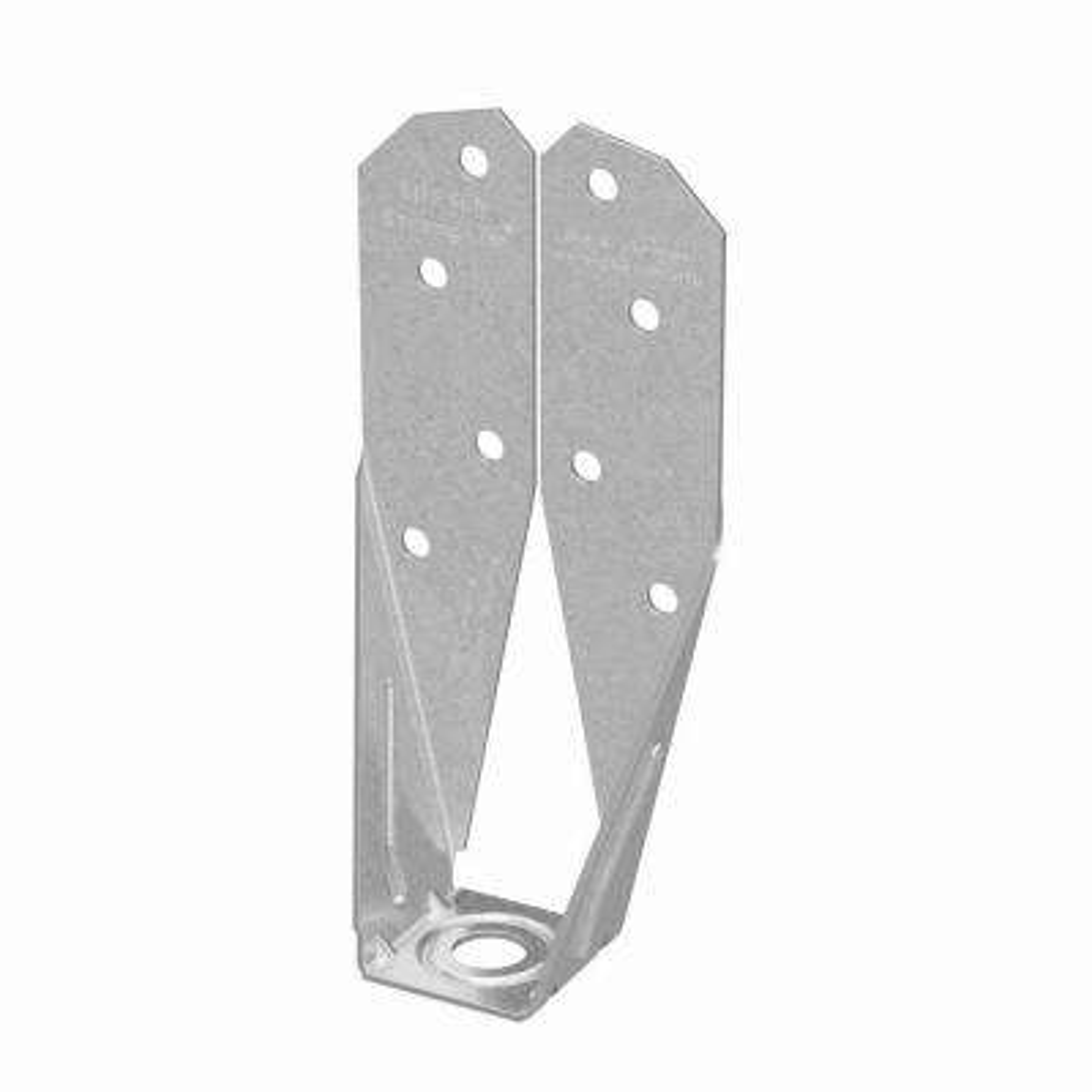 ZMAX 2x 14-Gauge Galvanized Deck Tension Tie with SDS Screw