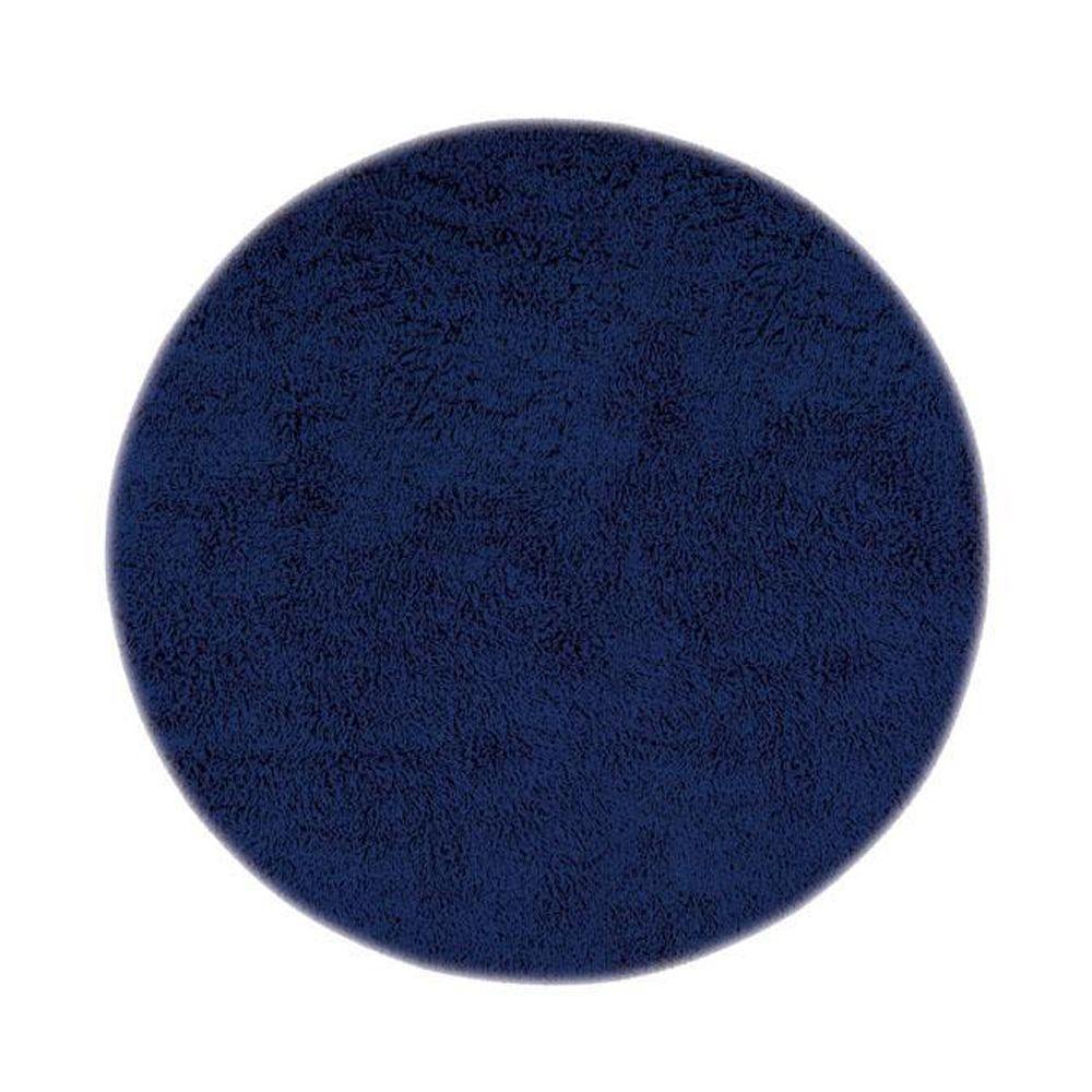 Ultimate Shag Blue 8 ft. Round Area Rug