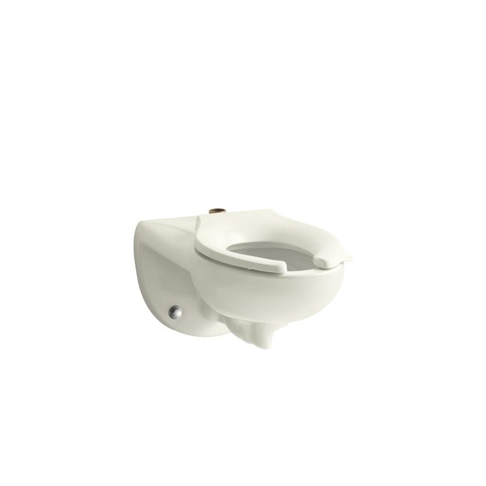 Kingston Elongated Toilet Bowl Only in Biscuit