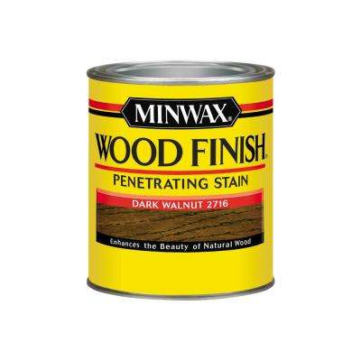 Wood Finish Dark Walnut Oil Based Interior Stain (4 Pack)