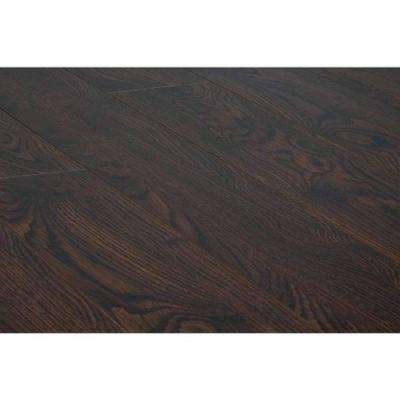 Roasted Espresso 15 mm Thick x 5 in. Wide x 48 in. Length Click-Locking Laminate Flooring Planks (16.48 sq. ft. /case)