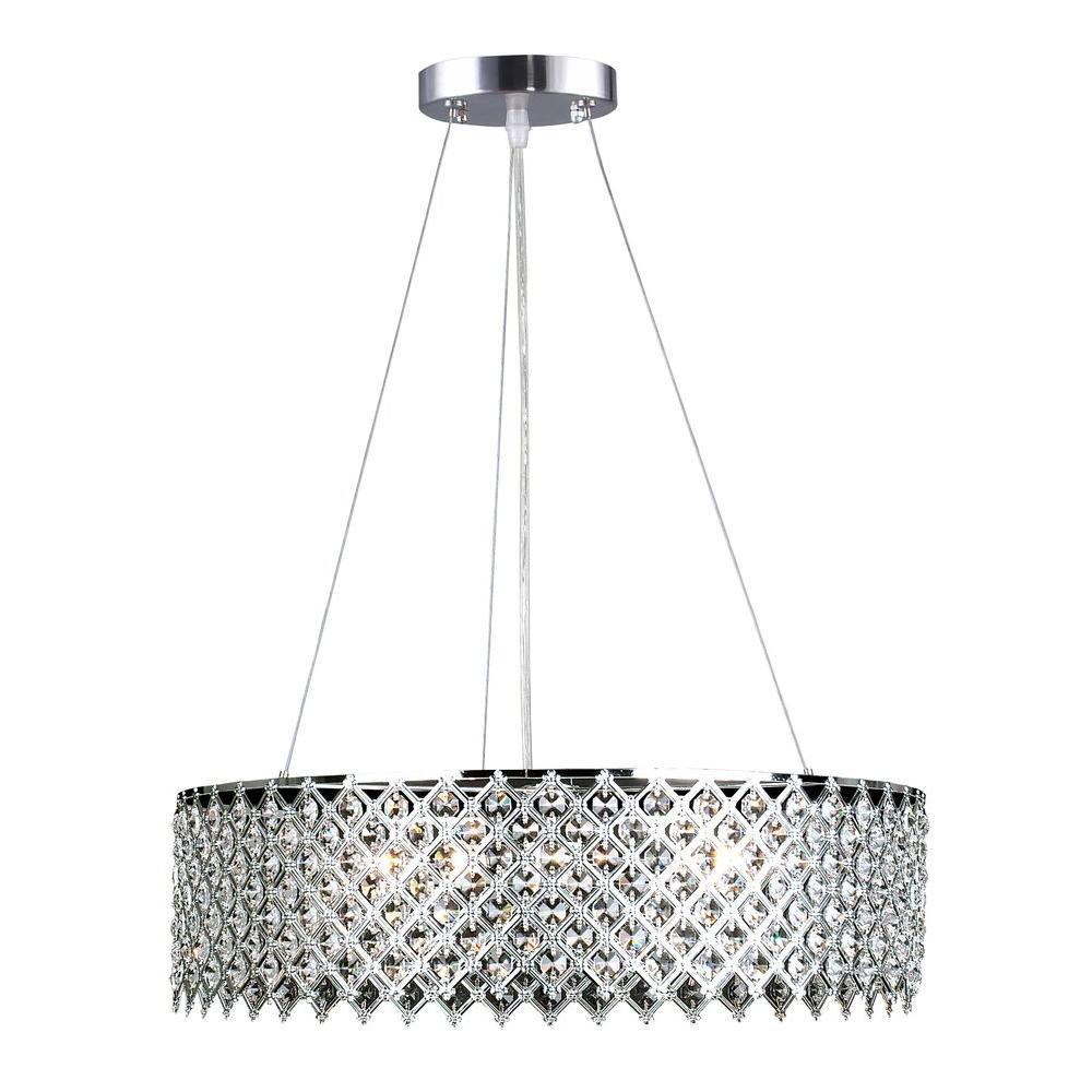Drum - Chandeliers - Lighting - The Home Depot