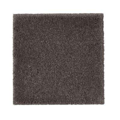 Carpet Sample - Gazelle II - Color Leather Tone Texture 8 in. x 8 in.