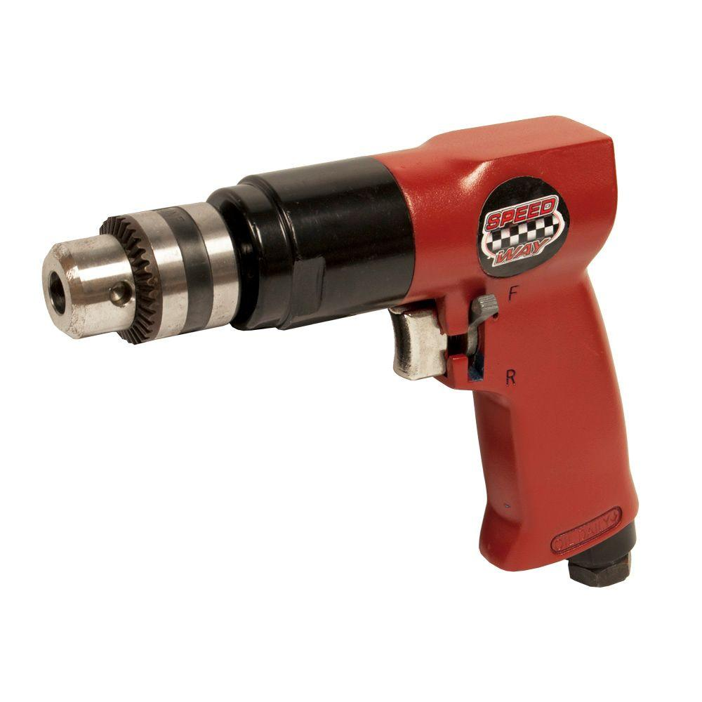 SPEEDWAY Professional Duty 3/8 in. Reversible Air Drill