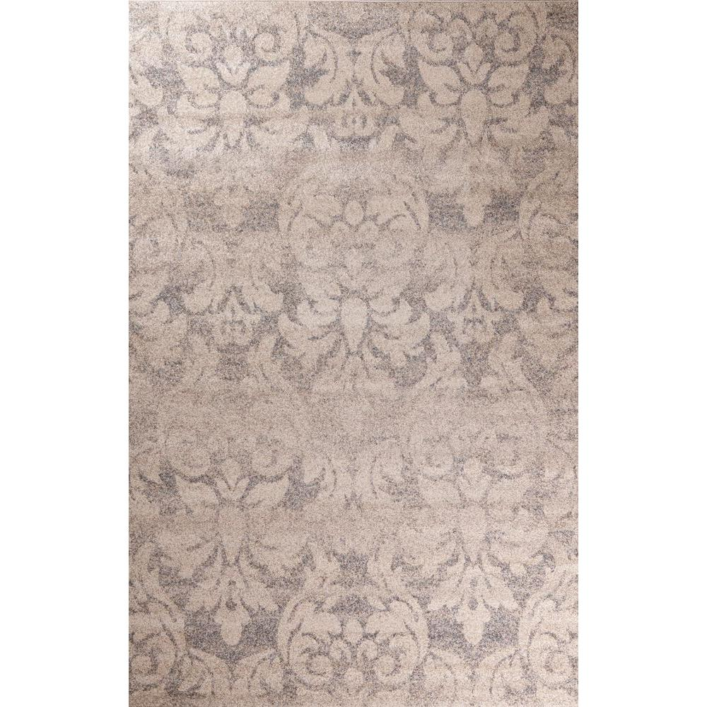 Concord Global Trading Casa Collection Majestic Beige 3 ft. x 5 ft. Area Rug