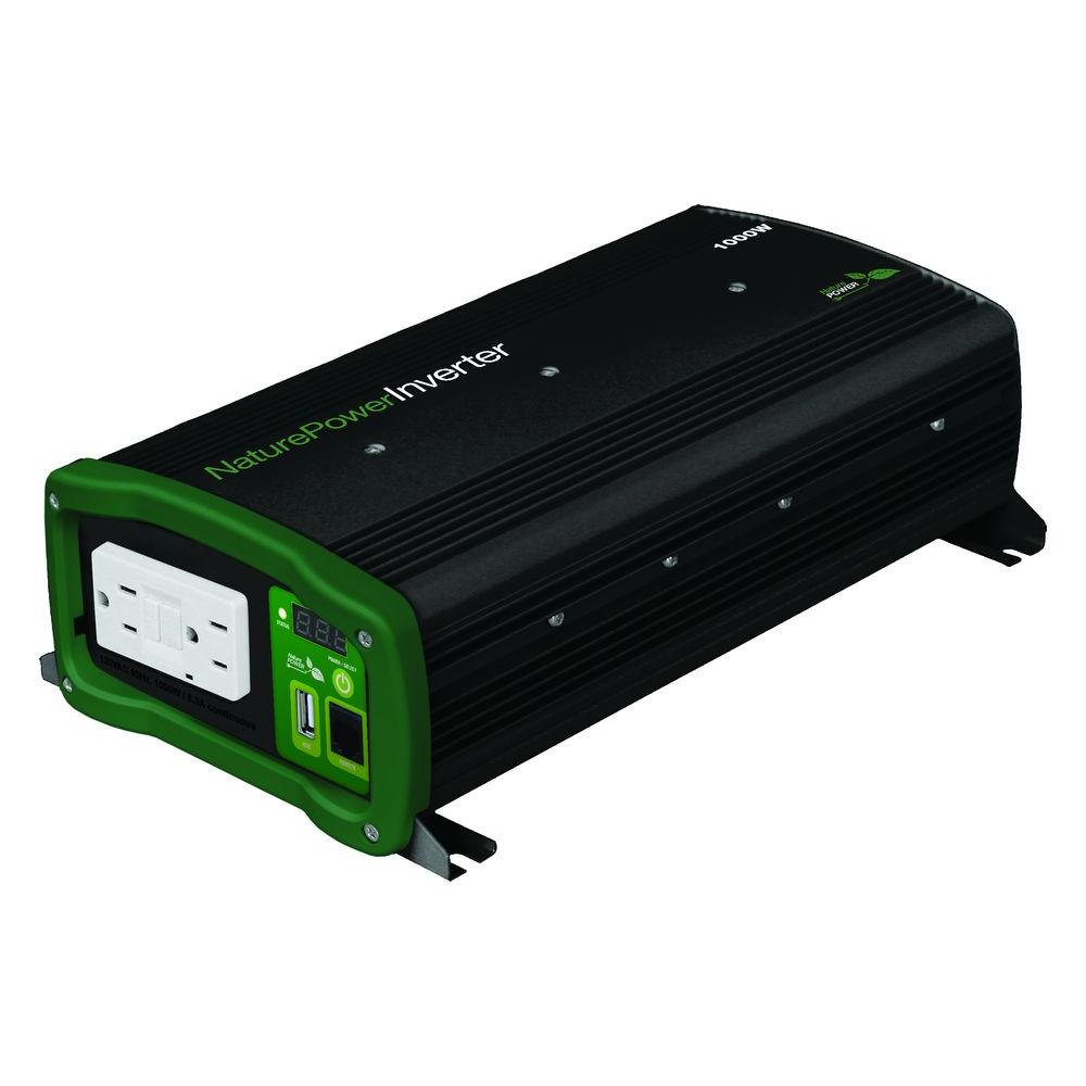 Nature Power 1000-Watt Pure Sine Wave Inverter