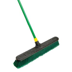 Quickie BULLDOZER 24 inch Indoor/Outdoor Push Broom by Quickie
