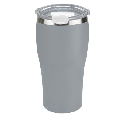 30 oz. Charcoal Gray Vacuum Insulated Stainless Steel Tumbler (2-Pack)