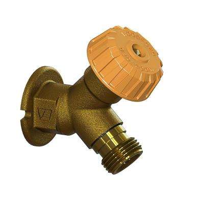 1/2 in. x FPT Mild Climate Brass Wall Hydrant