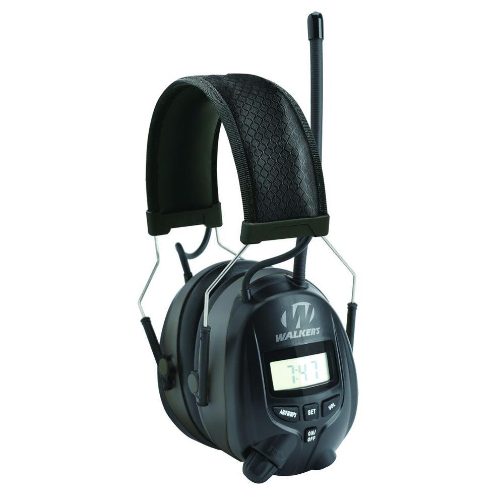 AM/FM Radio Muff with Digital Display