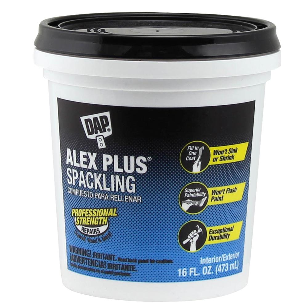 Alex Plus 16 oz. High Performance Spackling Paste