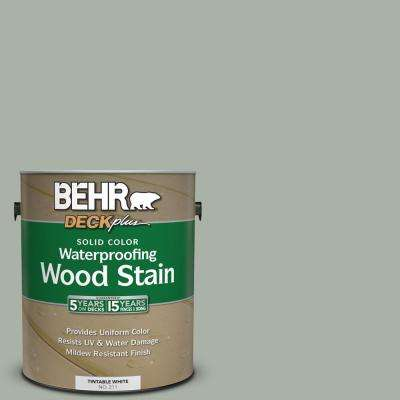1 gal. #SC-149 Light Lead Solid Color Waterproofing Exterior Wood Stain