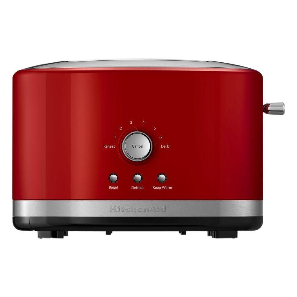 Kitchenaid 2 Slice Empire Red Toaster Kmt2116er The Home Depot