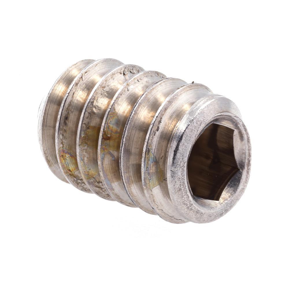 Black Oxide Coated Steel 1//4 in-28 X 3//8 in Prime-Line 9183575 Socket Set Screws 25-Pack