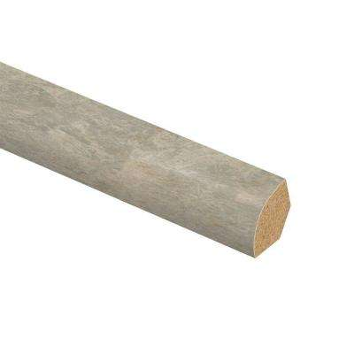 Ligoria Slate 5/8 in. Thick x 3/4 in. Wide x 94 in. Length Laminate Quarter Round Molding